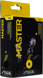 Stiga Master 1- Star Ball Bag of 144 White