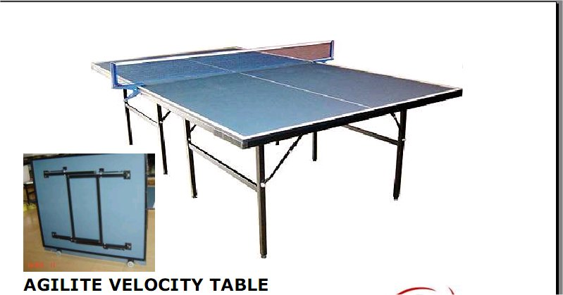 Agilite Velocity 12mm Table