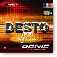 Desto F3 Big Slam Rubber