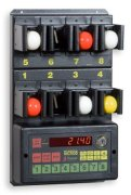 Favero Micro8/8B Time Accounting System for Table Tennis